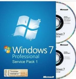 Porcellana Scatola professionale del francese/inglese Microsoft Windows 7 dell'OEM di chiave di SP1 64Bit di DVD dell'OEM fornitore