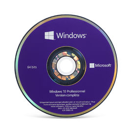 Porcellana 64 DVD del professionista di Windows 10 del bit, attivazione online chiave dell'OEM di Windows 10 per area globale distributore